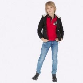Kalhoty z měkké džínoviny chlapci Mayoral 7509-53