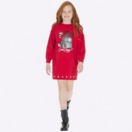 Saty bavlna s potiskem pro dívku Mayoral 7938-23