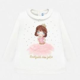 Tričko s dlouhým rukávem pro dívku Mayoral 2011-62