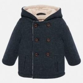 Pletený kabát izolovaný medvídkem pro chlapce Mayoral 2447-4