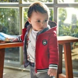 Bavlněná mikina s kapucí pro chlapce Mayoral 2456-53