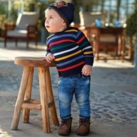 Kalhoty s měkkými džínsy chlapců Mayoral 2542-49