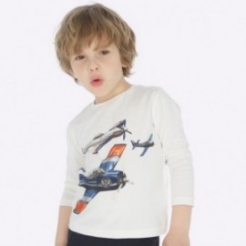 Košile s dlouhým rukávem každý den chlapec Mayoral 4023-21