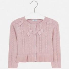 Pletený svetr s luky pro dívku Mayoral 4306-26
