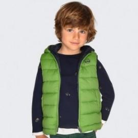 Oboustranná vesta s kapucí pro chlapce Mayoral 4319-57