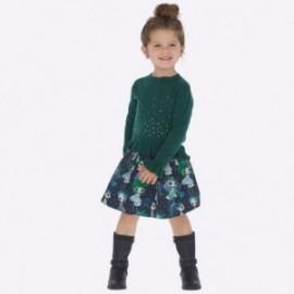 Sukně dvojitý pletená dívčí Mayoral 4910-10