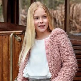 Elegantní halenka s dívčími ozdobami Mayoral 7105-26