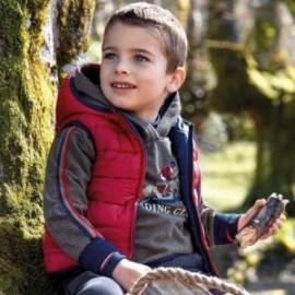 Vesta oboustranný s kapucí pro chlapce Mayoral 4319-56