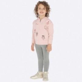 Sportovní tepláková bavlněná mikina a kalhoty pro dívky Mayoral 4801-92