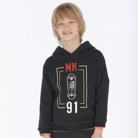 Mikina s kapucí přes hlavu chlapec Mayoral 7429-19