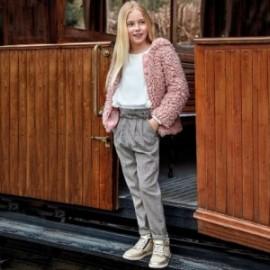 Dlouhé kalhoty kostkovaný pro dívku Mayoral 7502-14