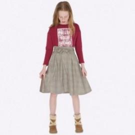 Kostkovaná sukně pro dívky Mayoral 7907-14