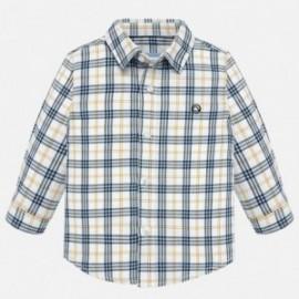 Dlouhé rukávy košile chlapce pléd Mayoral 2116-16