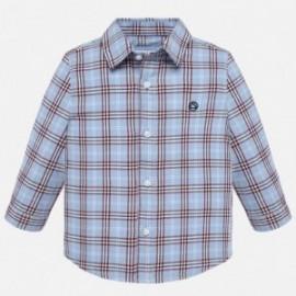Dlouhé rukávy košile chlapce pléd Mayoral 2116-15