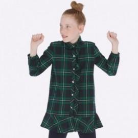 Kostkované šaty pro dívku Mayoral 7936-75
