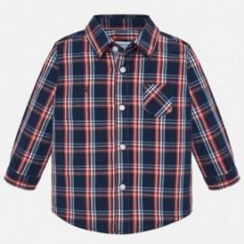 Košile s dlouhými rukávy v pléd chlapci Mayoral 2112-10