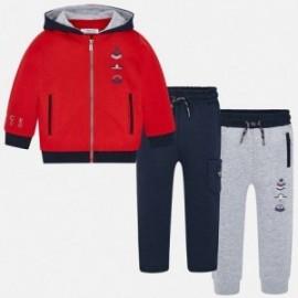 Track-suit mikina 2 páry chlapecké kalhoty Mayoral 4810-58