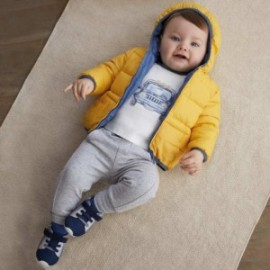 Kalhoty z teplé bavlny pro chlapce Mayoral 719-41