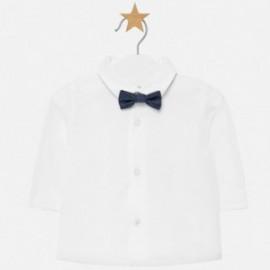 Košile s dlouhým rukávem a motýlek chlapec Mayoral 2102-68