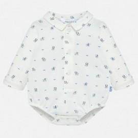 Tělo košile pletený s dlouhými rukávy pro chlapce Mayoral 2732-83