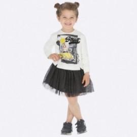 Šaty každodenní tyl sukně dívka Mayoral 4945-25