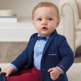 Bunda bavlna elegantní pro chlapce Mayoral 2414-59 Granát