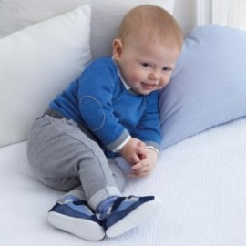 Kalhoty dlouho z měkké bavlny pro chlapce Mayoral 2518-33 šedá