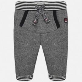 Kalhoty dlouho bavlna pro chlapce Mayoral 2520-92 Antracit