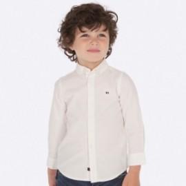 Košile s dlouhými rukávy sport pro chlapce Mayoral 142-14 Bílá