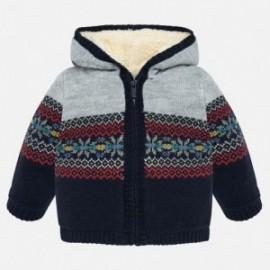 Teplý svetr s kapucí pro chlapce Mayoral 2332-20 Kosmos