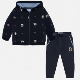 Tepláková mikina a bavlněné kalhoty pro chlapce Mayoral 2843-81 Tintero
