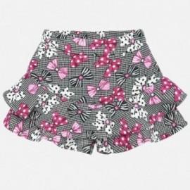 Sukně pletené kalhoty pro dívky Mayoral 2904-90 Fuksja