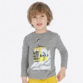 Tričko s dlouhým rukávem pro chlapce Mayoral 4019-72 Melange