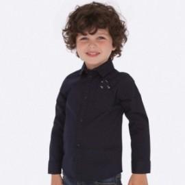 Košile s dlouhým rukávem tečky pro chlapce Mayoral 4118-56 granát