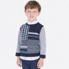 Elegantní svetr pro chlapce Mayoral 4309-79 šedá