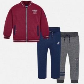 Dresská mikina 2 páry teplákových kalhot chlapců Mayoral 4808-62 řepa