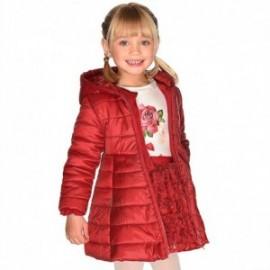 Sukně s květinami 3D efekt pro dívku Mayoral 4902-74 červená