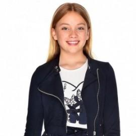 Tričko s dlouhým rukávem pro dívky Mayoral 7006-10 Smetanový