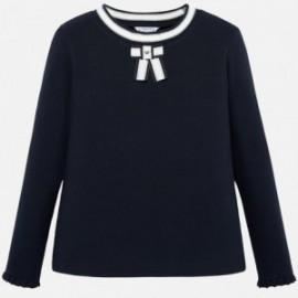 Tričko s dlouhým rukávem pro dívku Mayoral 7007-95 Granát