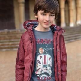 Tričko s dlouhými rukávy chlapci Mayoral 7023-88 Ocel