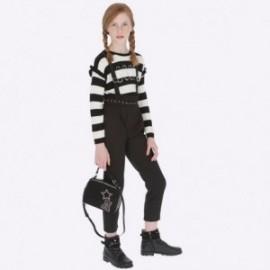 Kalhoty dlouho se šlemi dívky Mayoral 7506-2 Černá