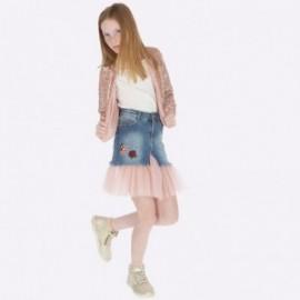 Sukně džíny pro dívky Mayoral 7910-67 Bystrý