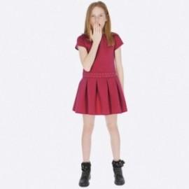 Pletené šaty každý den sportovní dívka Mayoral 7939-64 Fuchsie