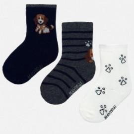Sada 3 ponožek pro chlapce Mayoral 10633-96 Kosmos