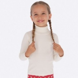 Golf pletená dívčí Mayoral 313-56 krém