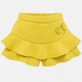 Sukně kalhoty pletený pro dívku Mayoral 2904-91 Acacia