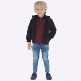 Kalhoty z měkkého džínoviny chlapci Mayoral 4512-53 Basic