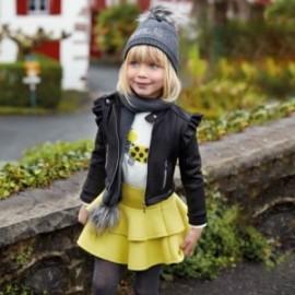 Sada halenky a bavlněné sukně dívčí Mayoral 4950-31 Akácie