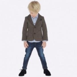 Kalhoty džíny slim fit chlapci Mayoral 4508-23 Tmavý