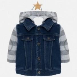 Bunda přechodná bavlna s džínami chlapec Mayoral 2415-5 Džíny